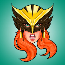 Good Head: Hawkwoman by micQuestion