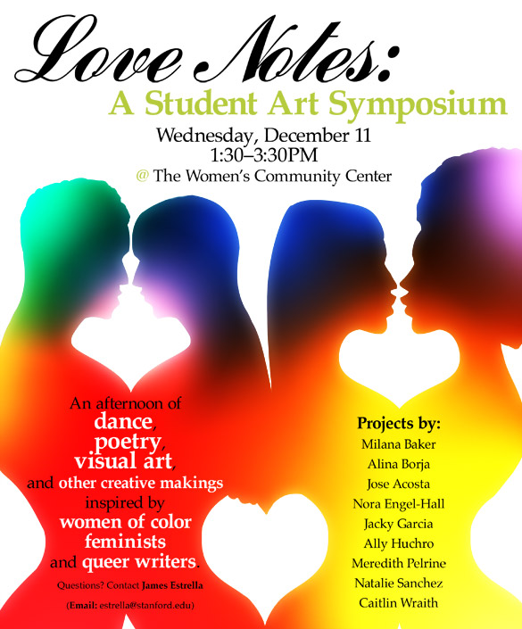 Love Notes: A Student Art Symposium by micQuestion