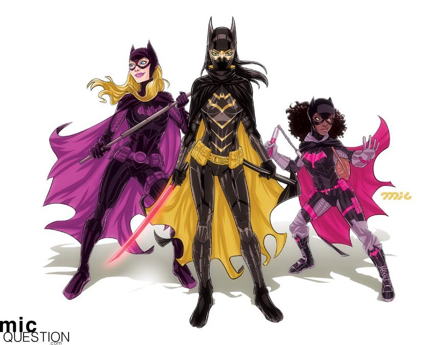 Batgirls by micQuestion