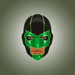 Good Head: Green Lantern Simon Baz by micQuestion