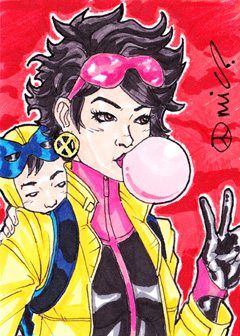 Jubilee and Shogo ACEO by micQuestion