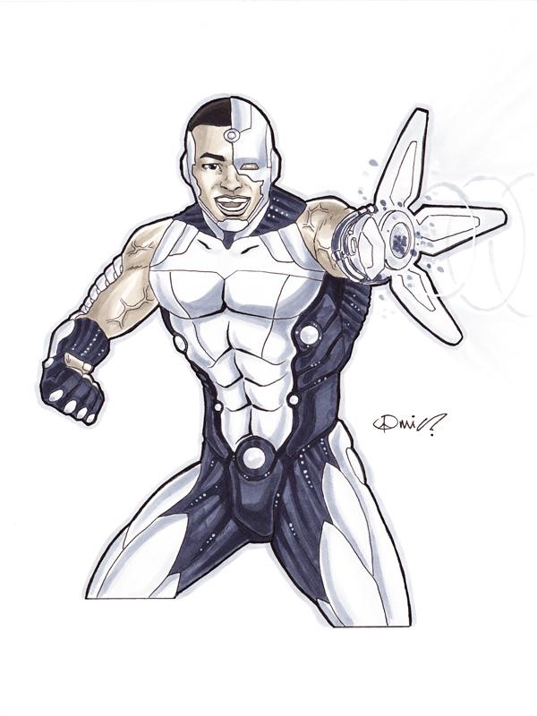 Cyborg by micQuestion
