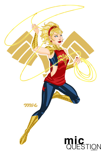 Wonder Girl by micQuestion