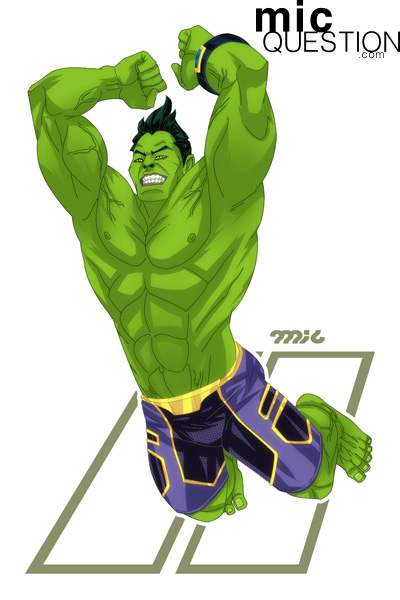 Totally Awesome Hulk by micQuestion