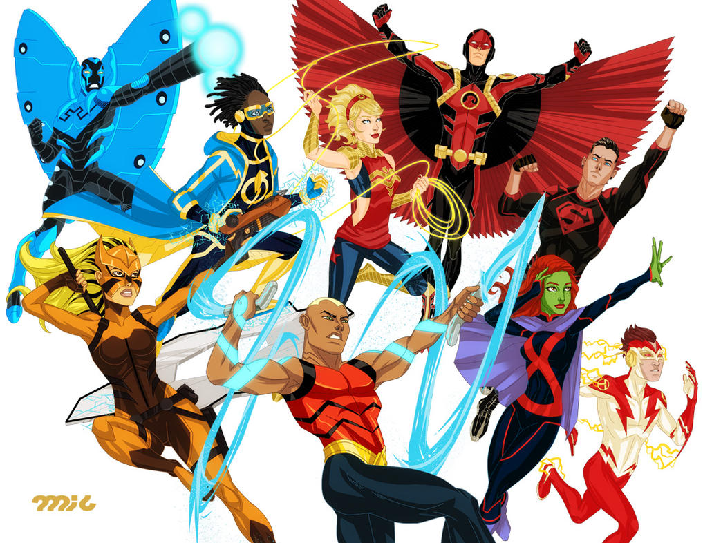 Young Justice by micQuestion