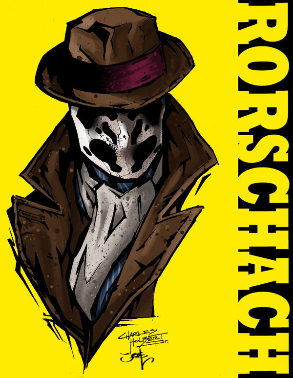 Rorschach by Kidnotorious by JoelAmatGuell