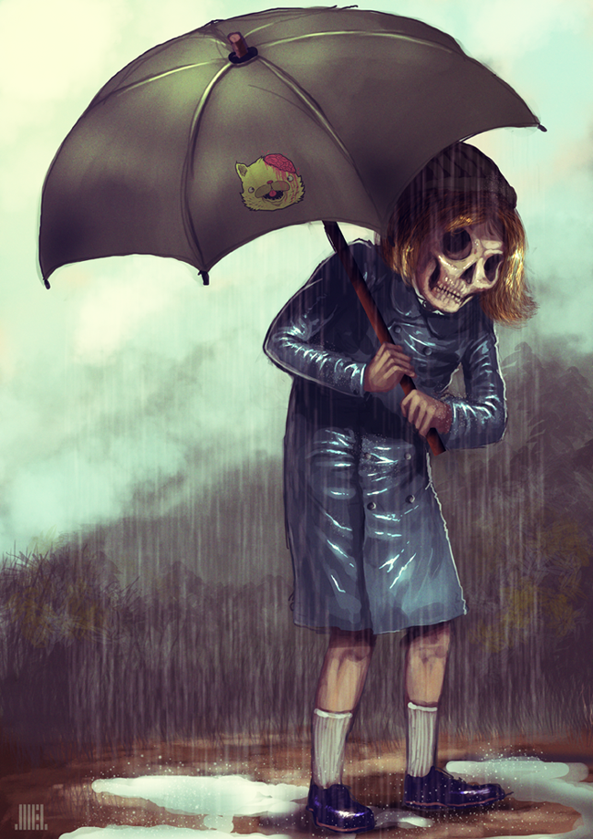 drop dead 1: umbrella by JoelAmatGuell