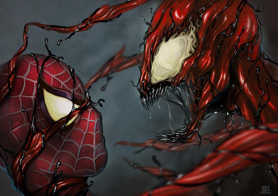 Spiderman vs carnage drawings - photo#7
