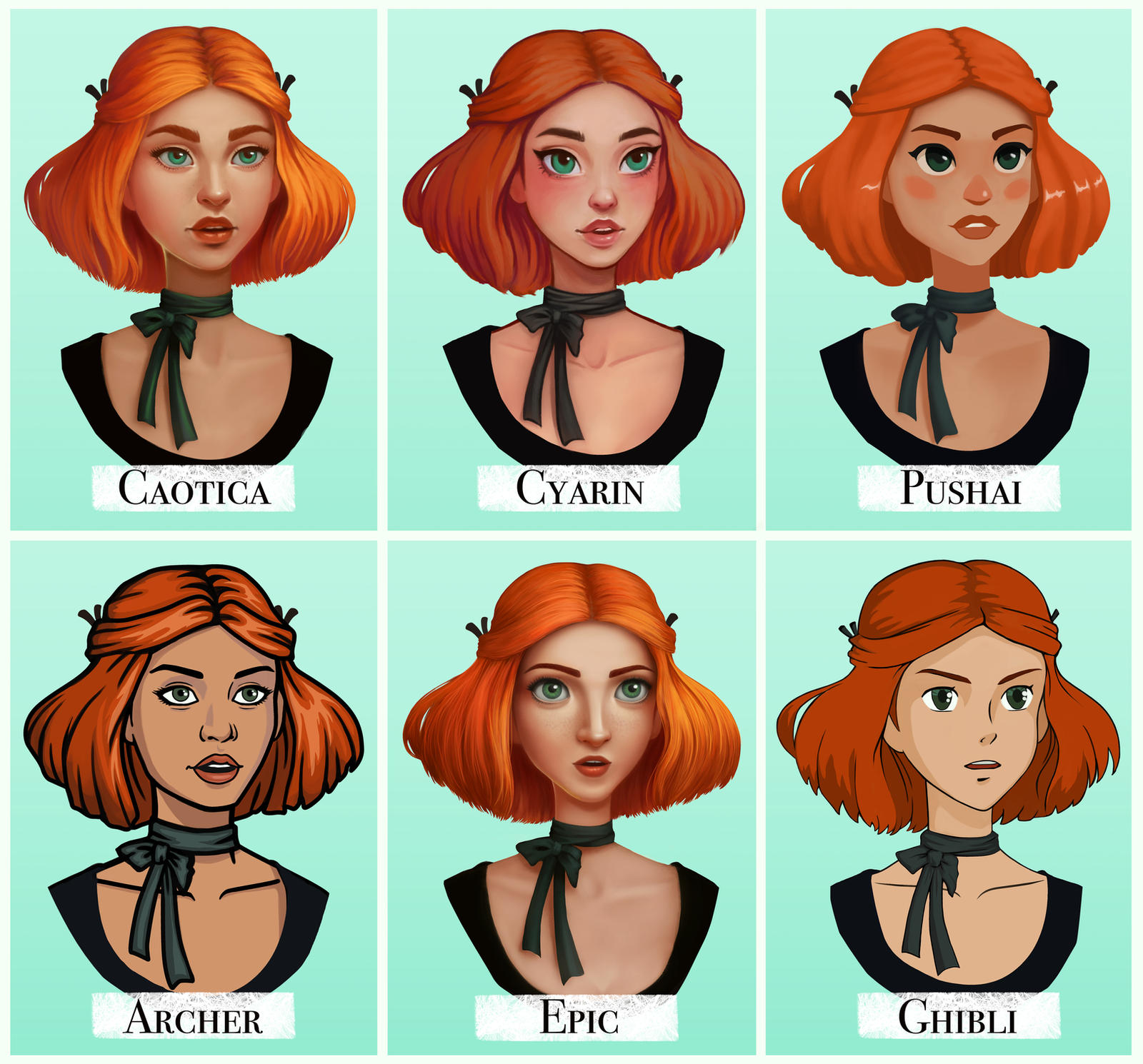 Style Challenge By Caot1ca On DeviantArt