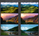 Landscapes - color and light practice