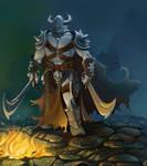 Warrior by Saarl