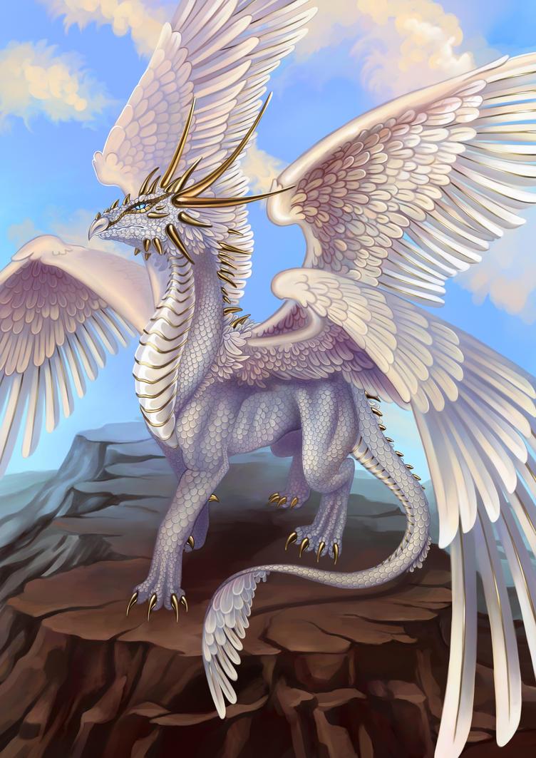 White Dragon by Saarl