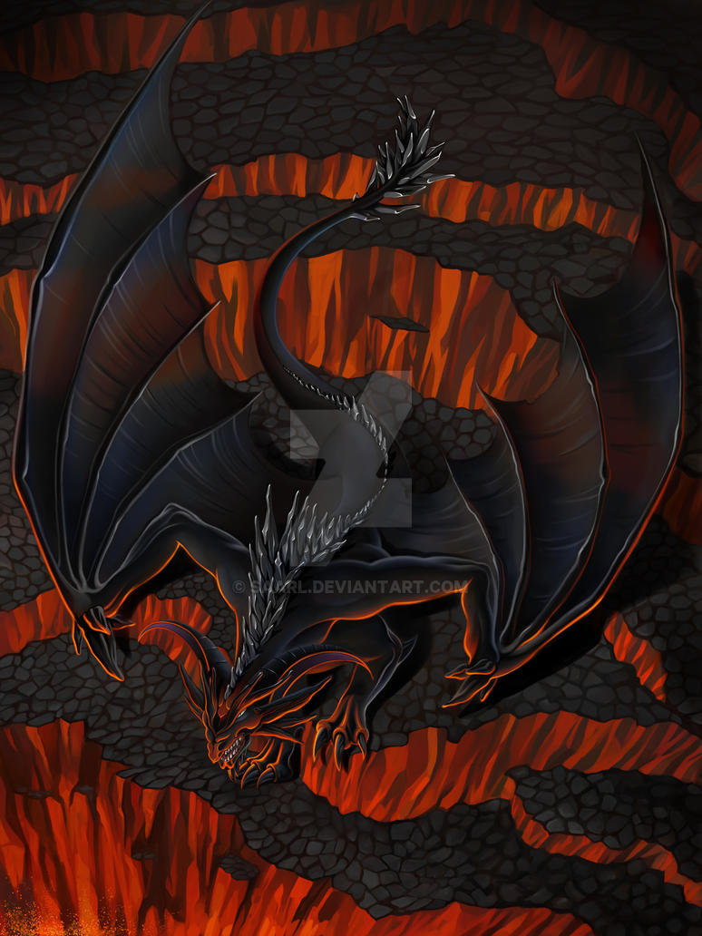 Black Dragon by Saarl