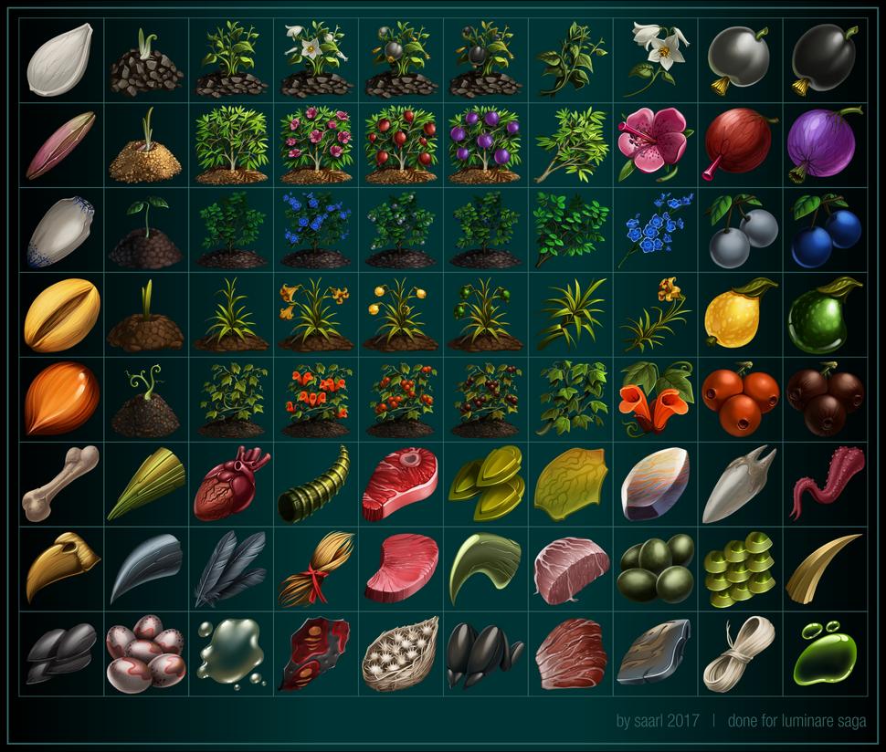 Harvest Icons by Saarl