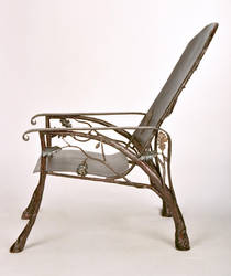 Patio chair by artistladysmith