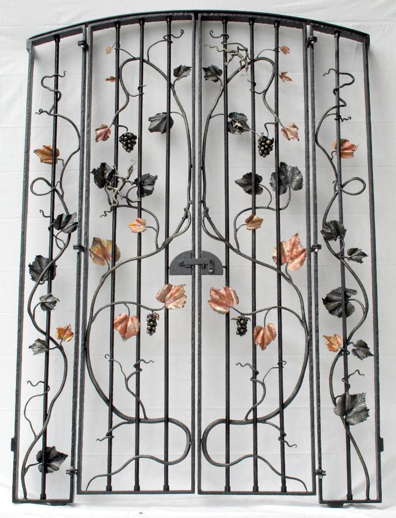 Wine cellar gate by artistladysmith on deviantart