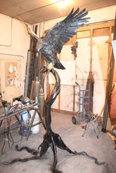 Houston the eagle has landed by artistladysmith