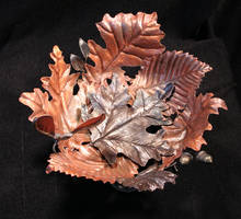 leaf bowl by artistladysmith
