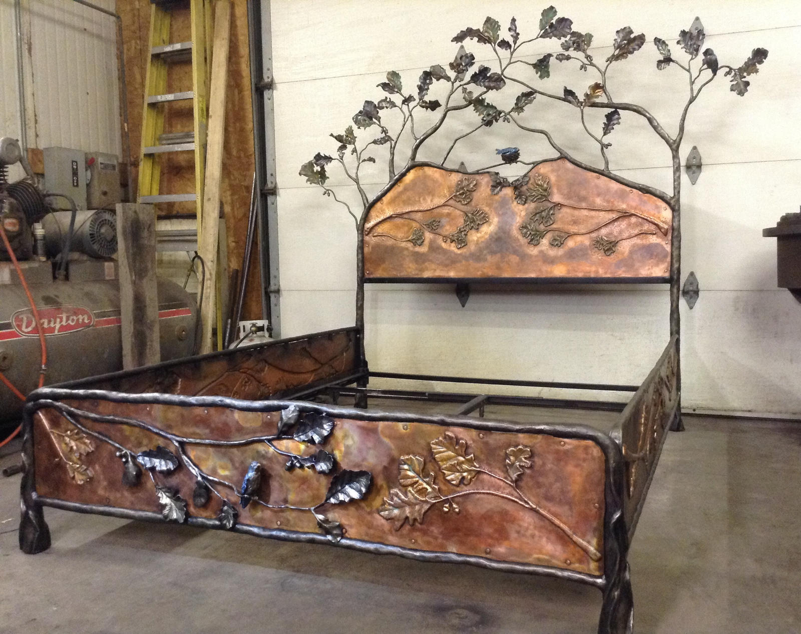 finished bed by artistladysmith