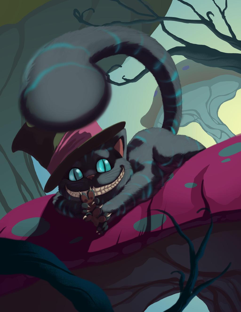 Cheshire Cat by HeribertoHernandez