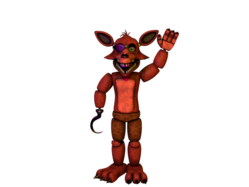 unwithered foxy by GBProductionsOficial on DeviantArt