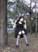 Swinging Gothic Lolita by idreamofjv