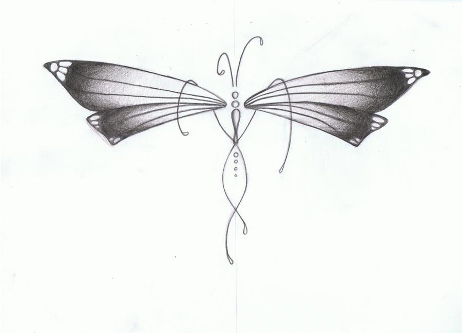bfly 1a - dragonfly tattoo