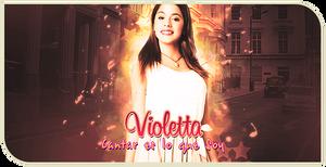 Firma de Violetta by kuroro97