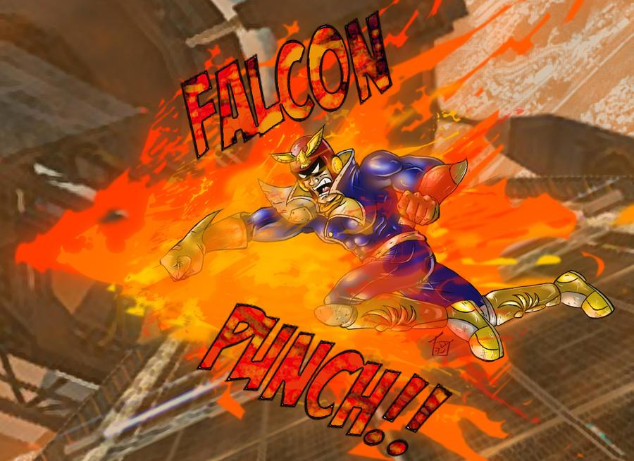 Captain falcon punch - photo#15
