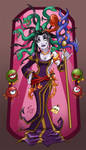 Miss Medusa by hooksnfangs