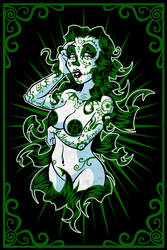 Sugar Skull Girl - Ivy