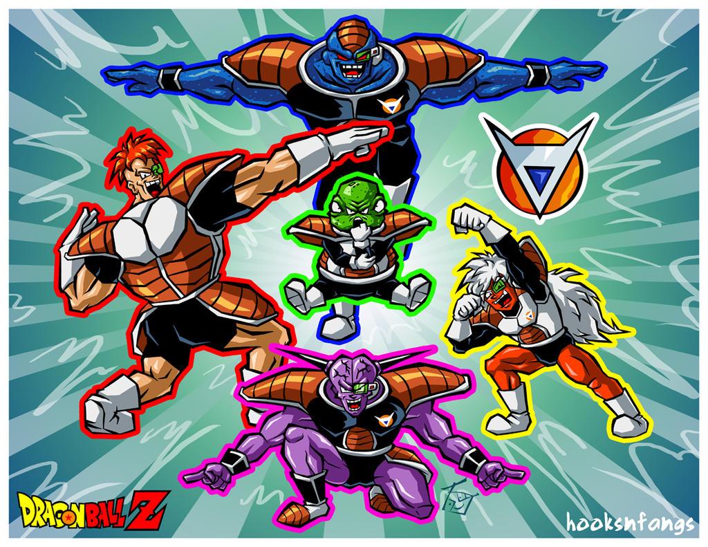 Dragon Ball Z Tenkaichi Tag Team  The Terrifying Ginyu Force