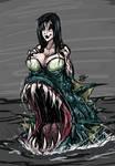 Mermaid Trap Monster