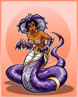 Serpent Lady Ssserpentina by hooksnfangs