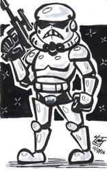 Chibi Stormtrooper Ink