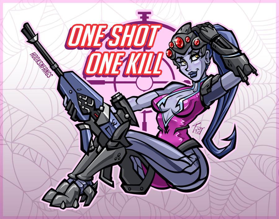 [Comm] One Shot, One Kill by hooksnfangs