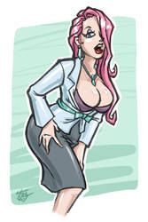 [Girlies] Office Babe by hooksnfangs