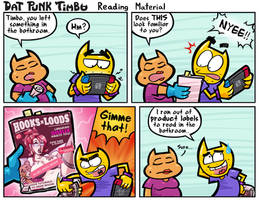 DPT: Reading Material by hooksnfangs