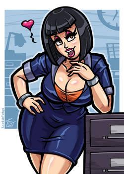 Office Babe: Mandy
