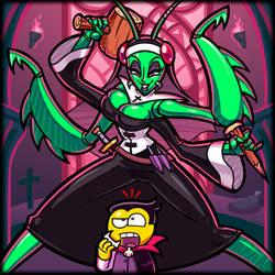 Vampire Hunting Mantis