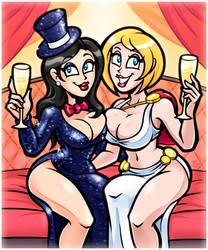 Party Dress Zatanna n Power Girl