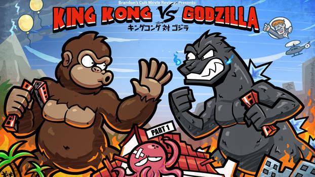 Titlecard: King Kong vs Godzilla Part 1