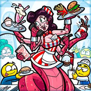 Naga Waitress