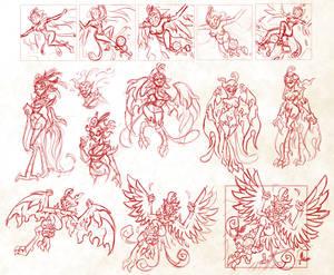 Phoenix Harpy Concepts