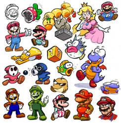 Doodles: Mario Stuff