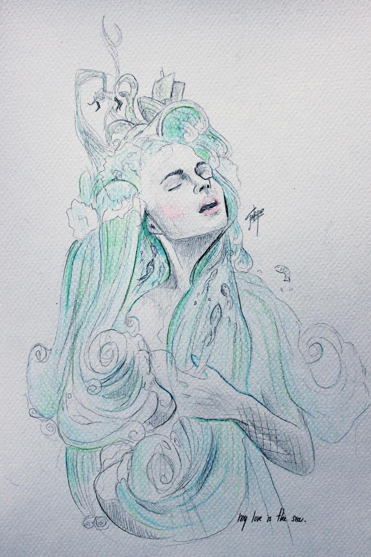 Mermaid by LUQWE