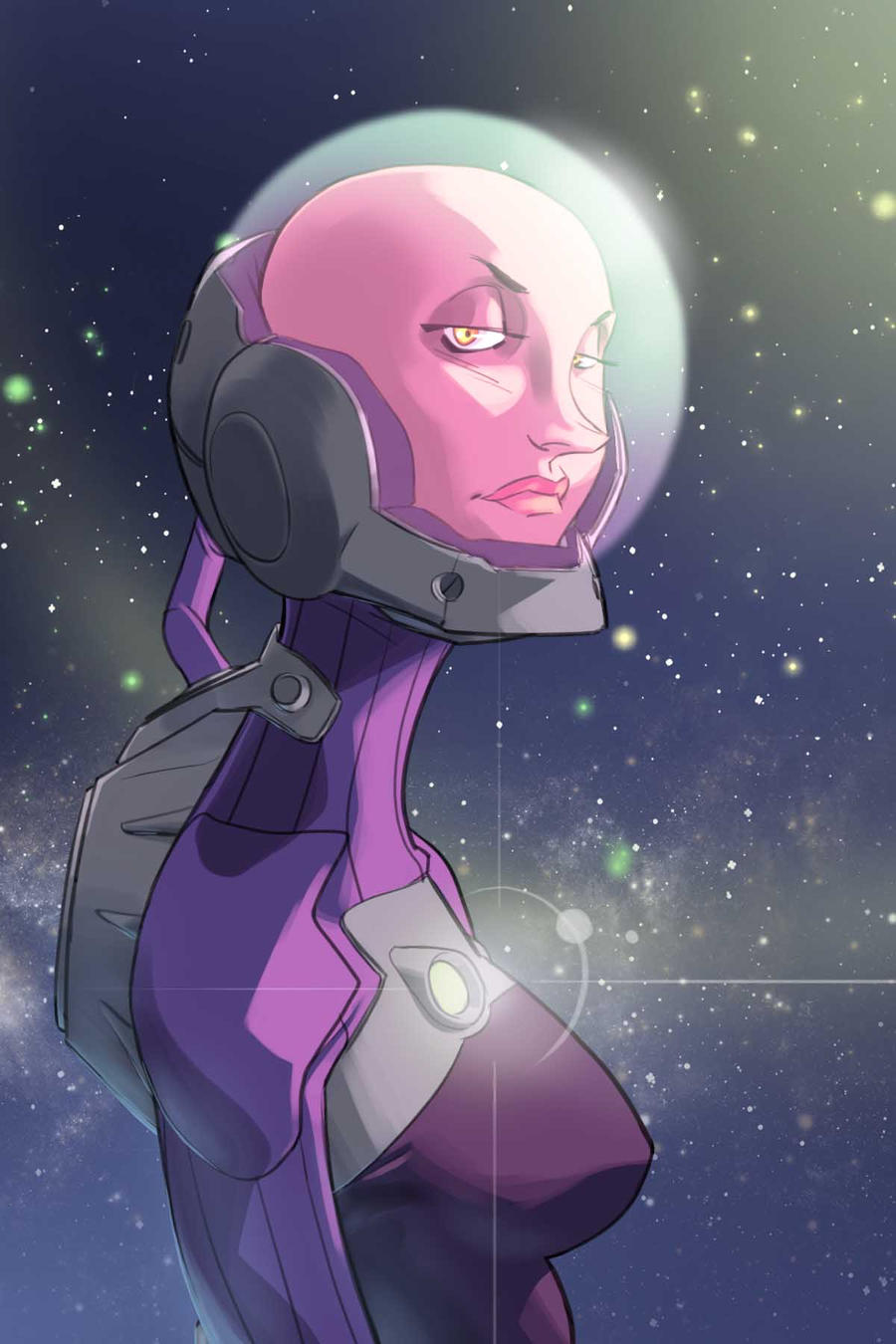 who doesn't love a space chick? by ShaunONeil