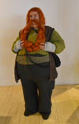 Bombur in all his bomburiness by EriciusLux