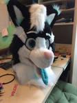 Fursuit Head - Yemmi the Wolf