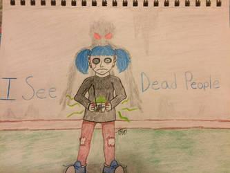 Sally Face fan art - I see dead people